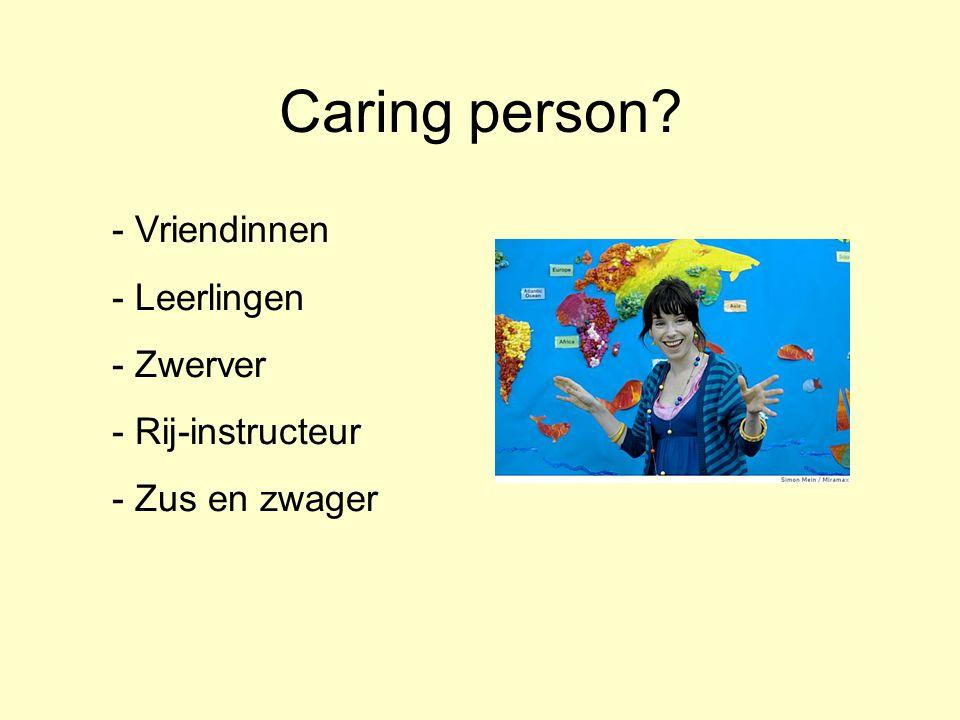 Caring person Vriendinnen Leerlingen Zwerver Rij-instructeur