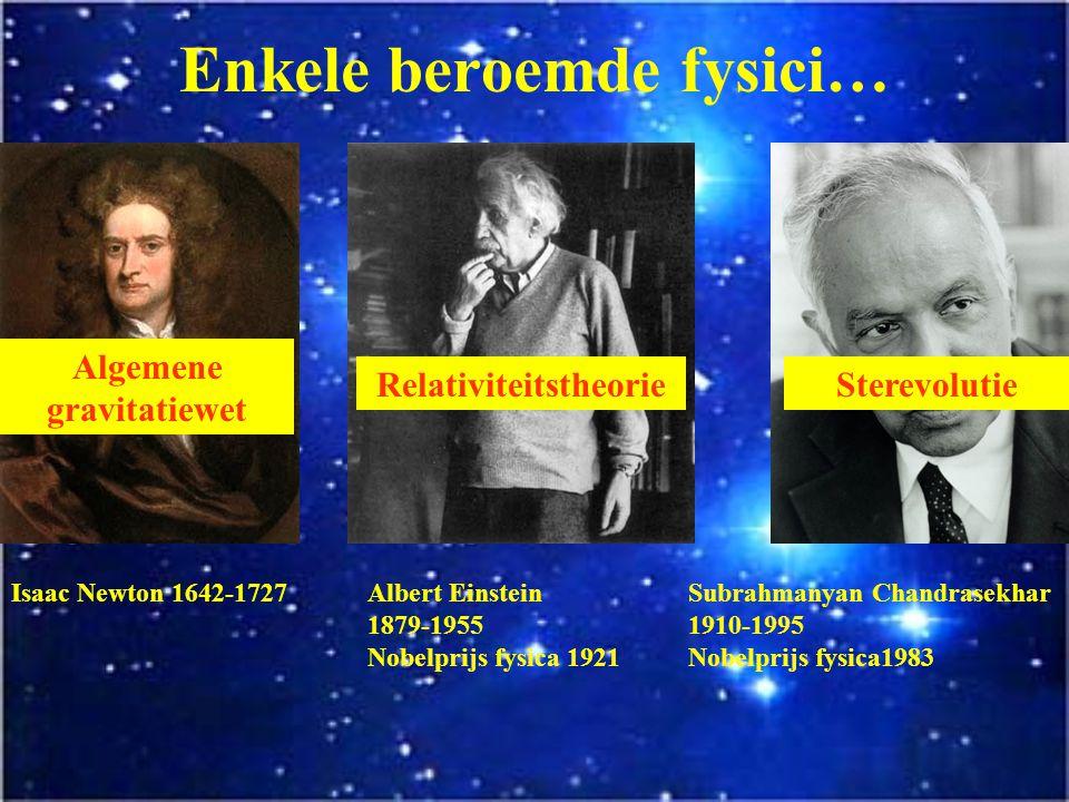 Enkele beroemde fysici…