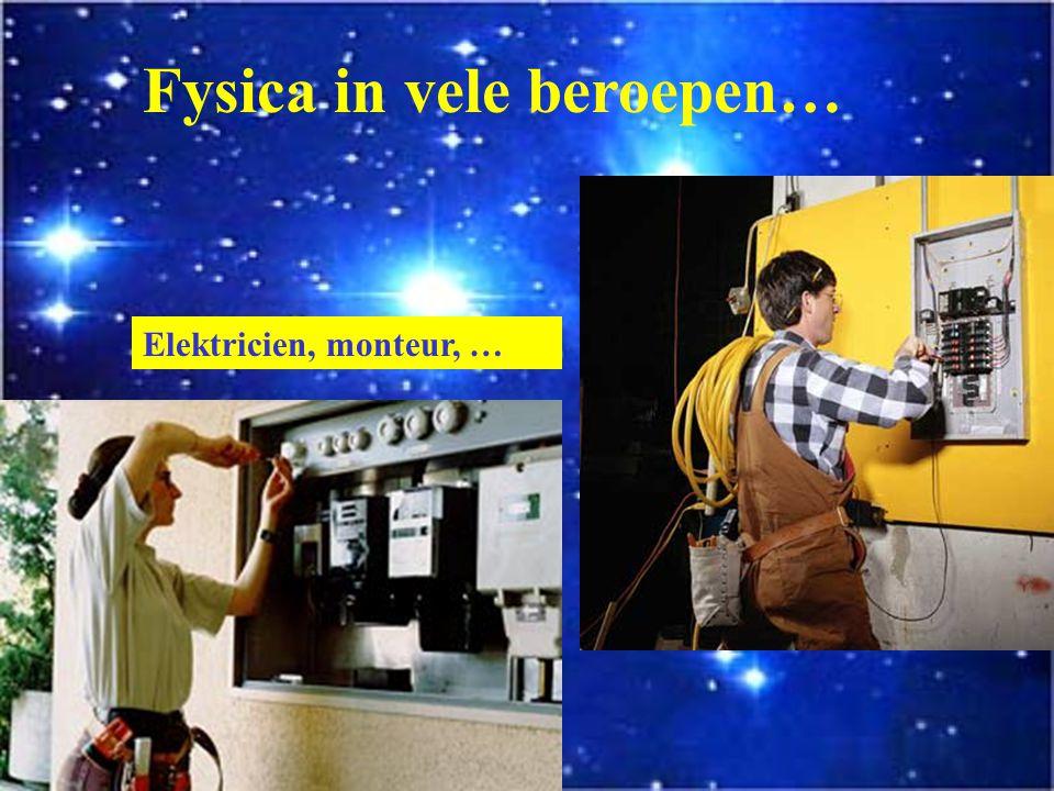Fysica in vele beroepen…