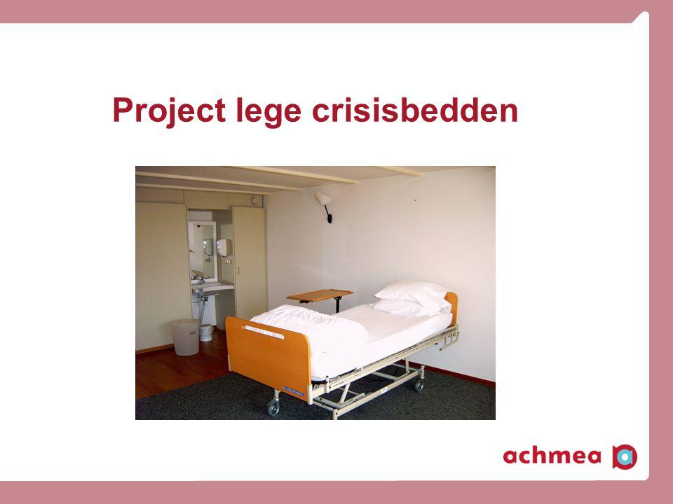Project lege crisisbedden
