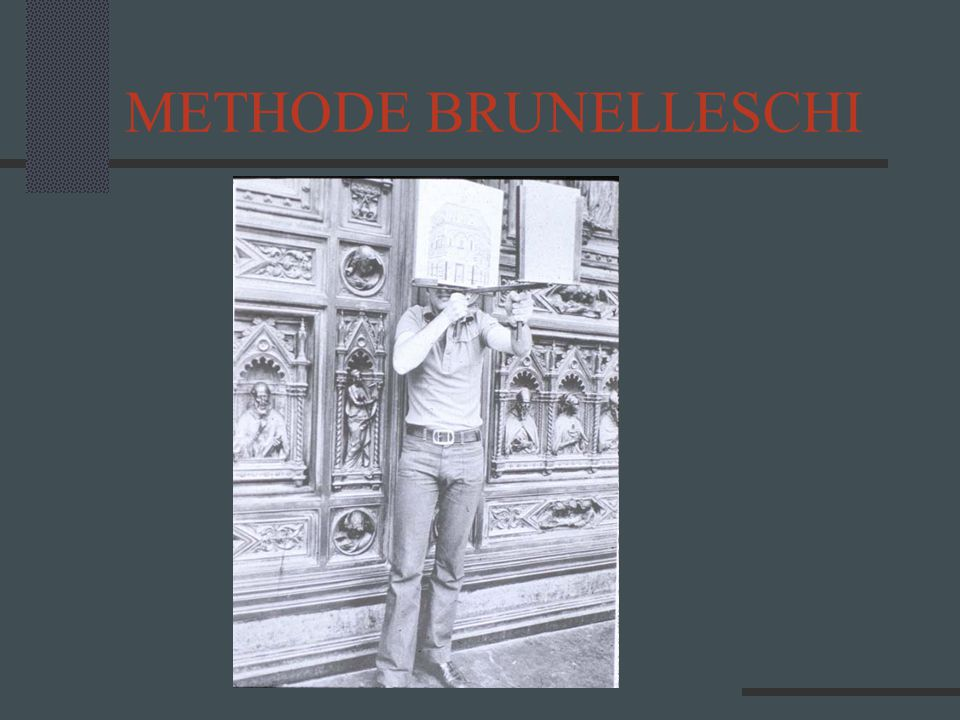 METHODE BRUNELLESCHI