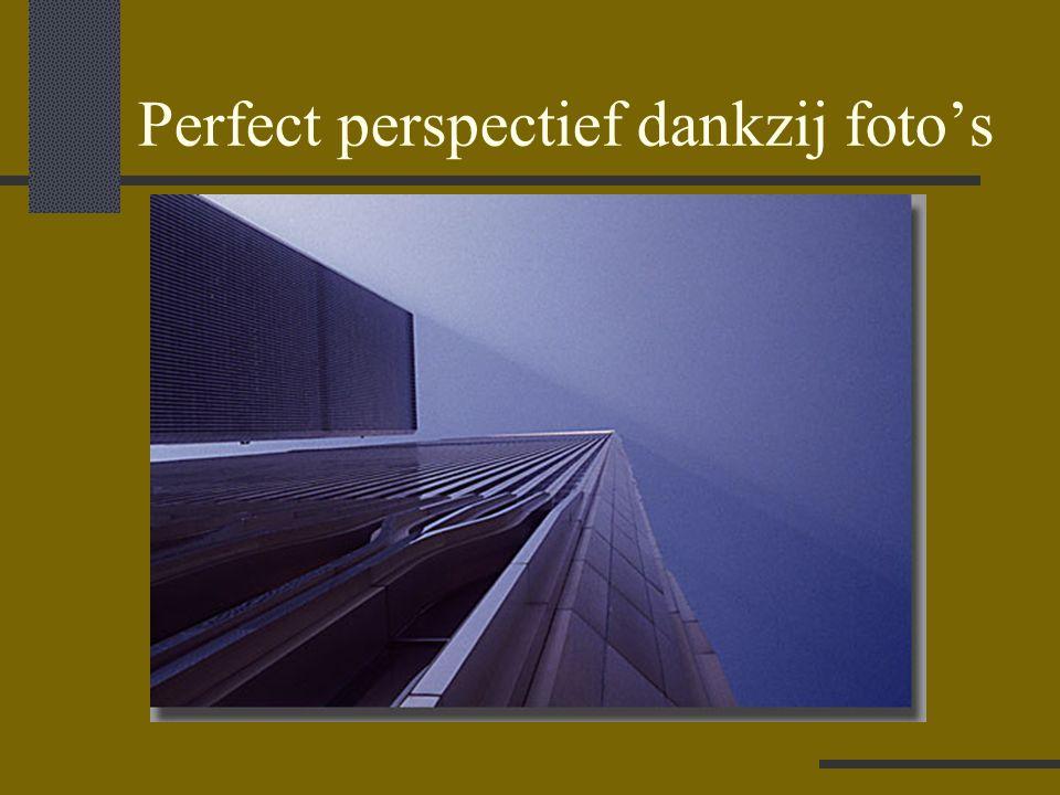 Perfect perspectief dankzij foto's
