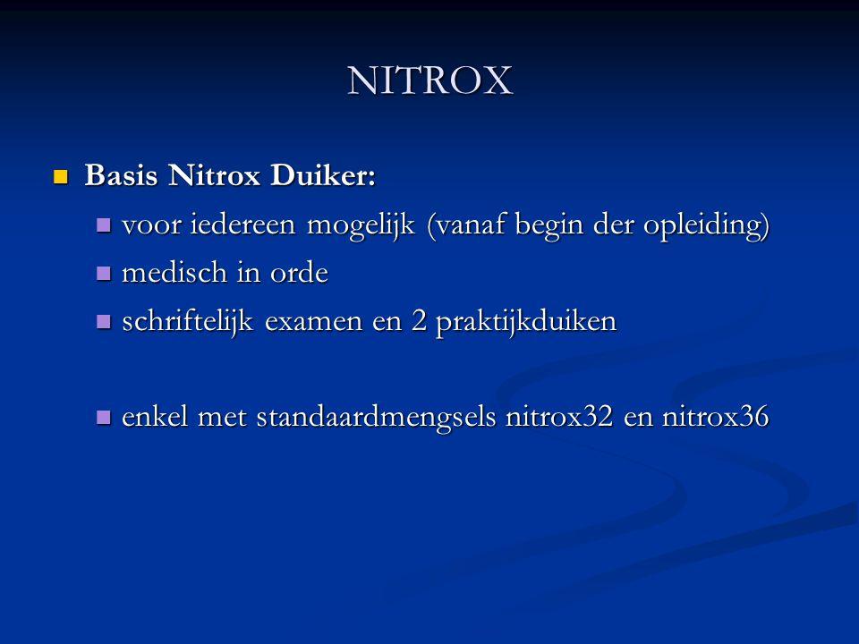 NITROX Basis Nitrox Duiker: