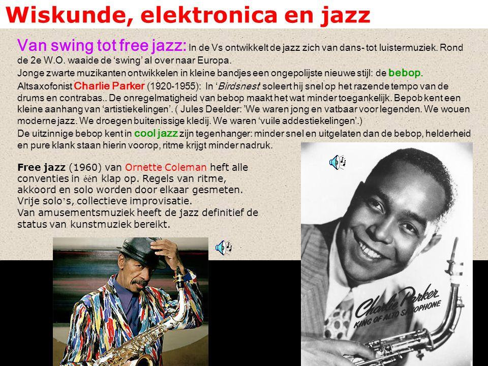 Wiskunde, elektronica en jazz