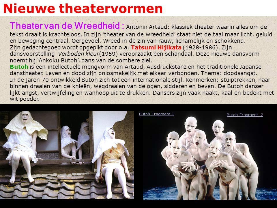 Nieuwe theatervormen