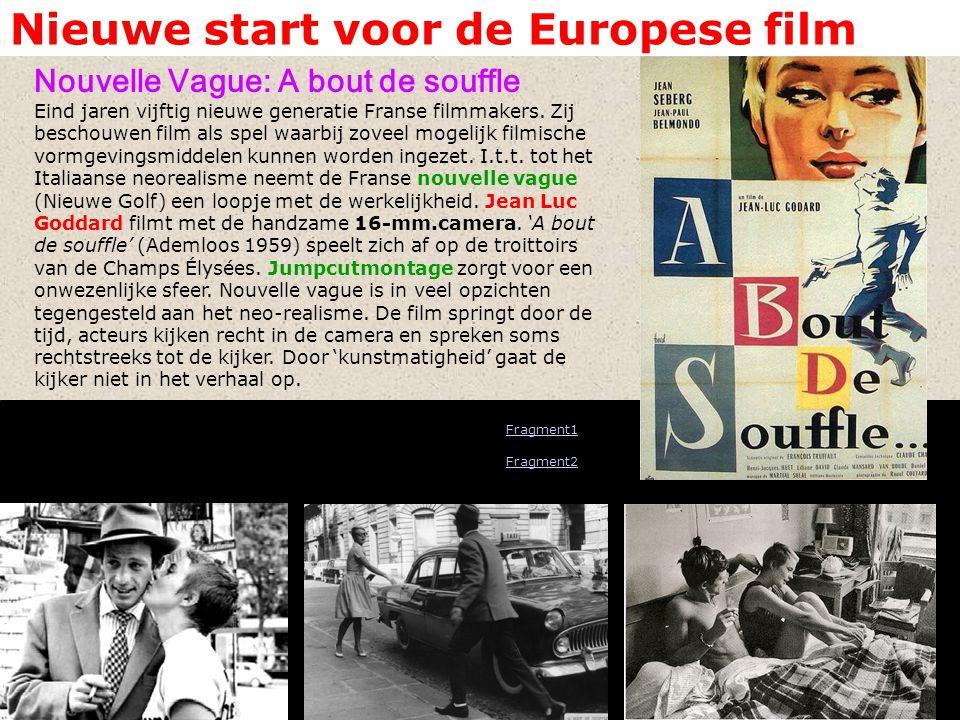Nieuwe start voor de Europese film