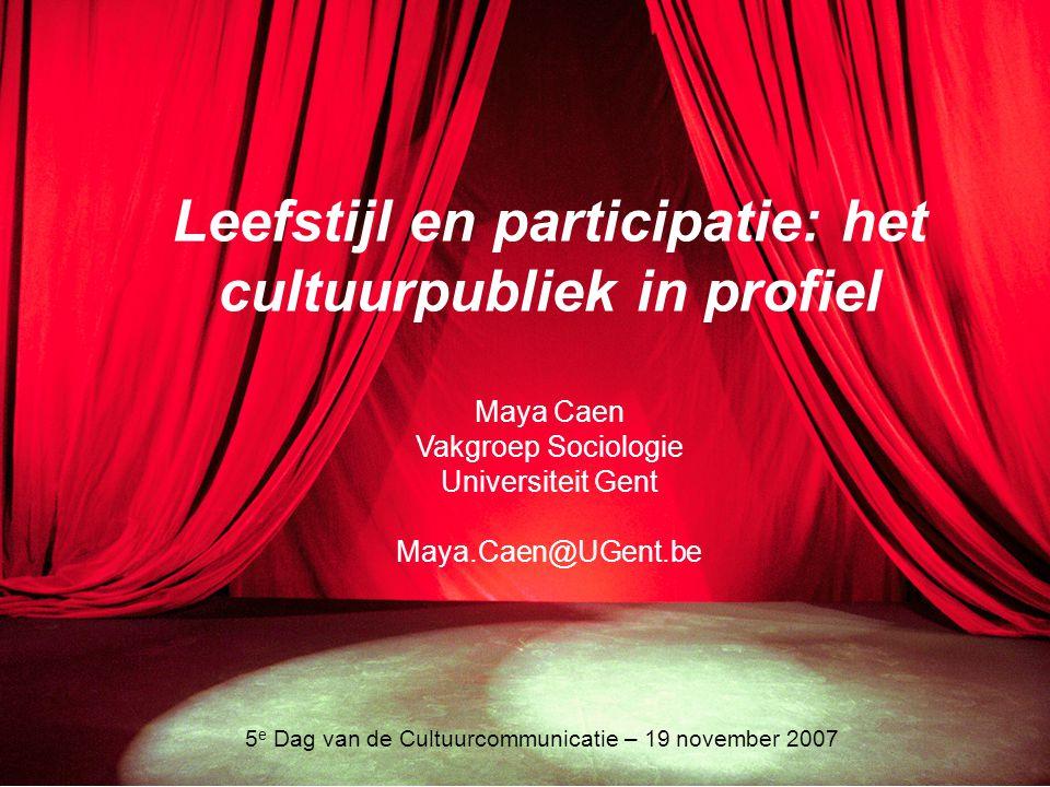 5e Dag van de Cultuurcommunicatie – 19 november 2007