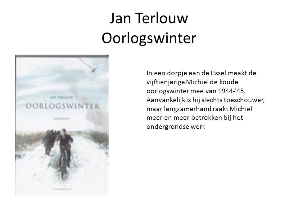 Jan Terlouw Oorlogswinter