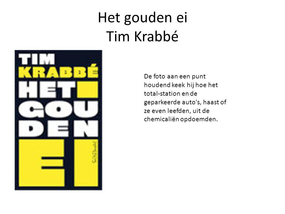 Het gouden ei Tim Krabbé