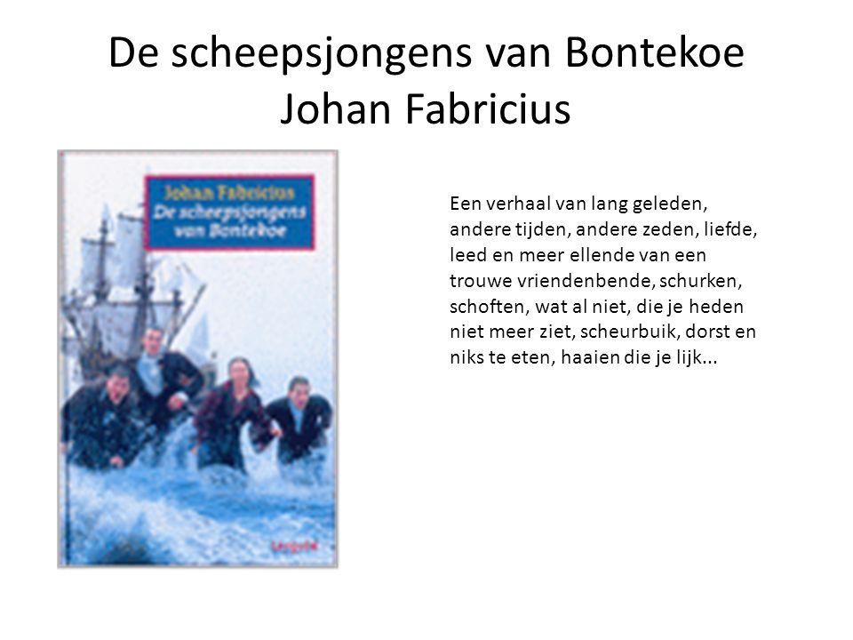 De scheepsjongens van Bontekoe Johan Fabricius