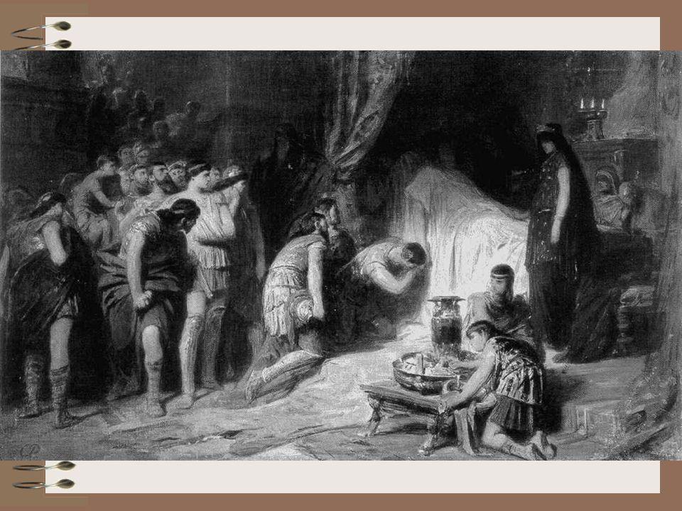 Karl Theodor von Piloty: Der Tod Alexanders des Großen