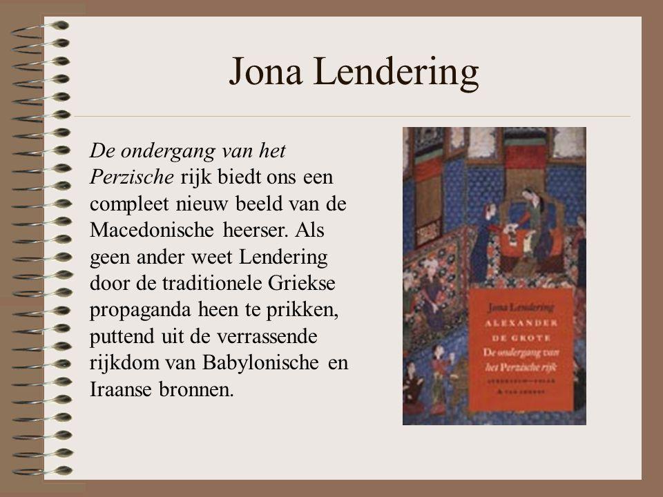 Jona Lendering