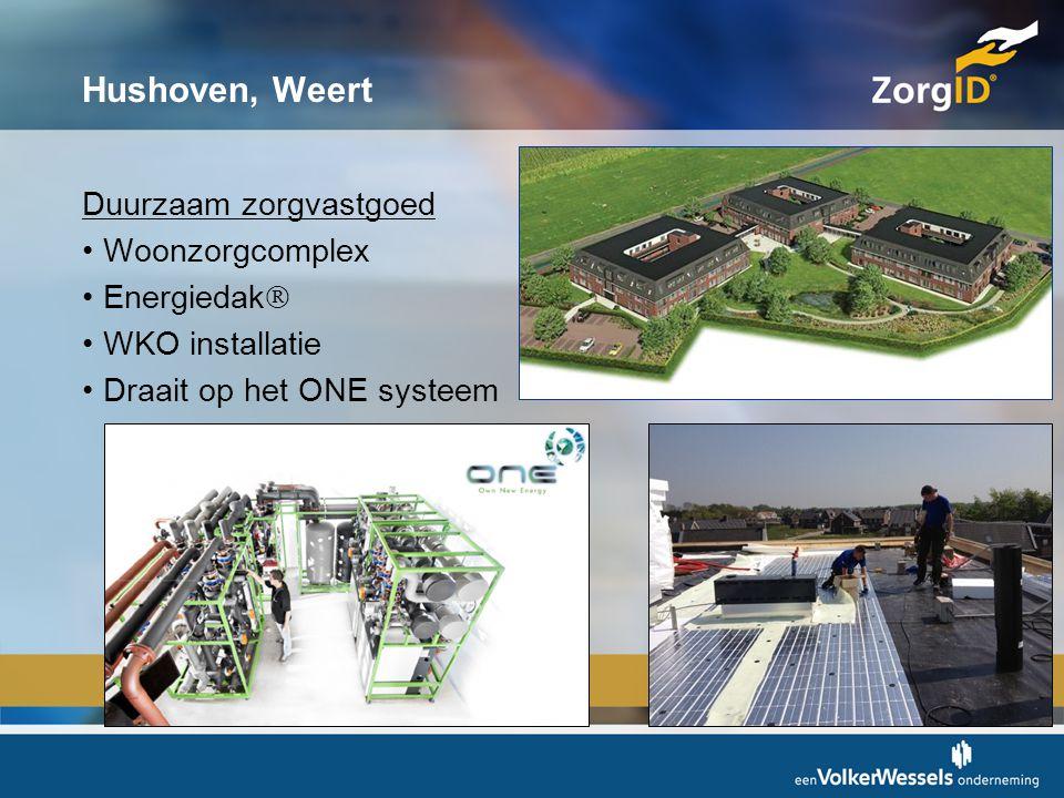 Hushoven, Weert Duurzaam zorgvastgoed Woonzorgcomplex Energiedak