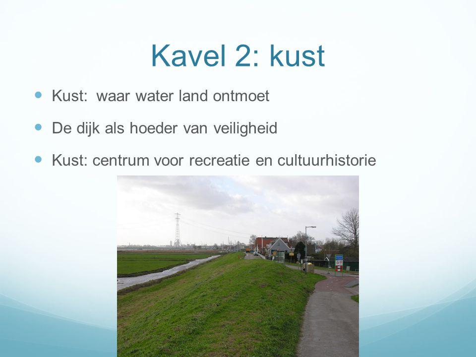 Kavel 2: kust Kust: waar water land ontmoet