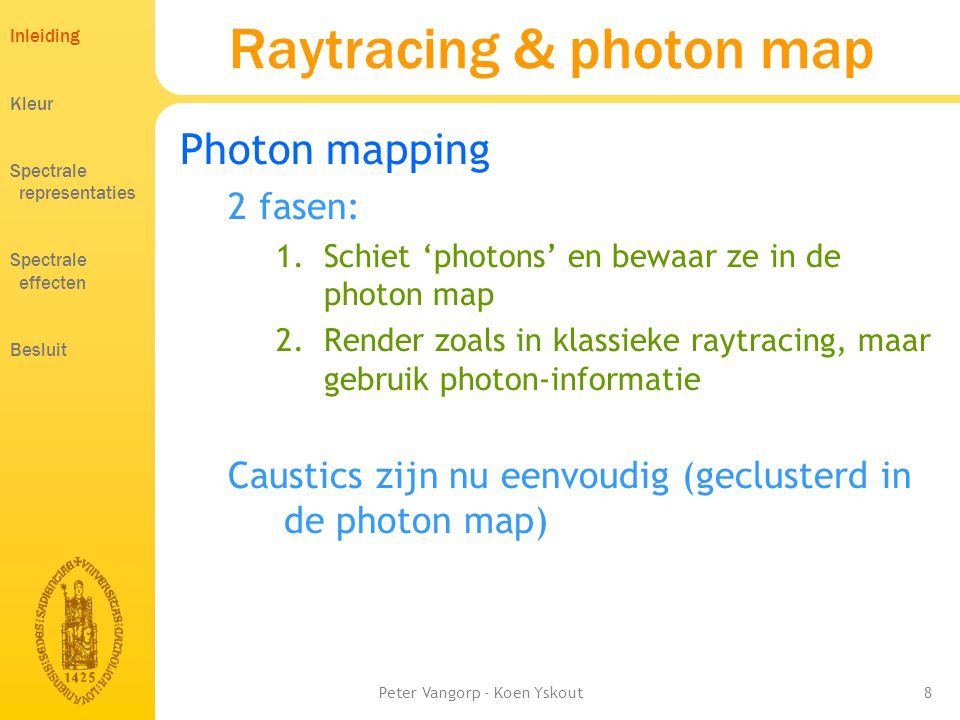 Raytracing & photon map
