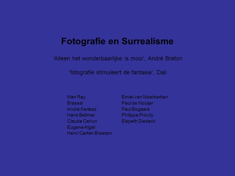 Fotografie en Surrealisme