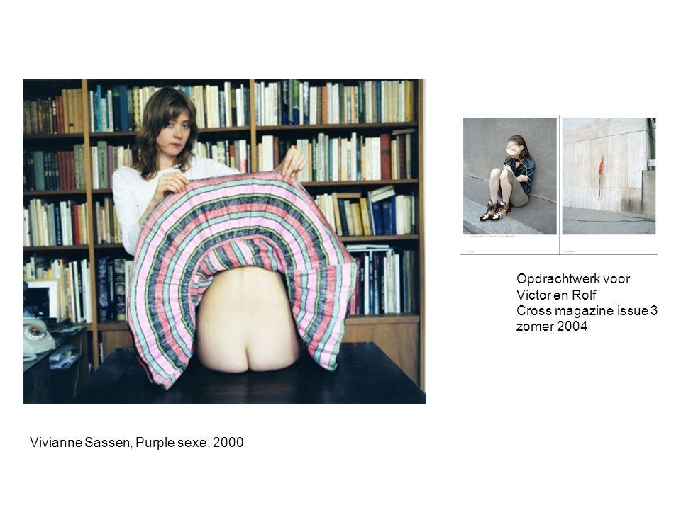 Opdrachtwerk voor Victor en Rolf. Cross magazine issue 3.