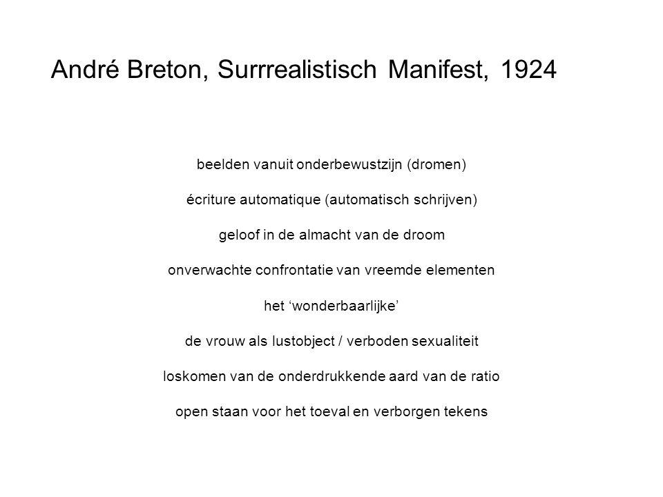 André Breton, Surrrealistisch Manifest, 1924