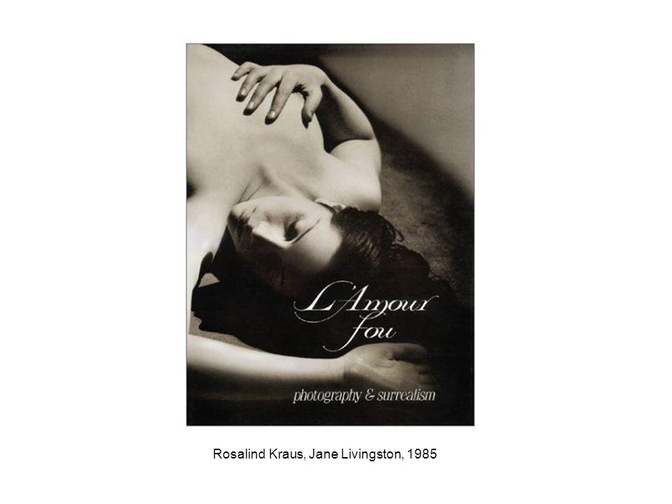 Rosalind Kraus, Jane Livingston, 1985