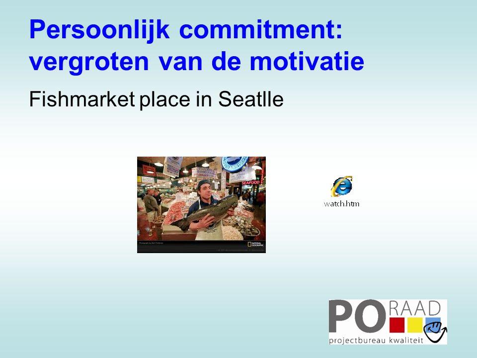 Persoonlijk commitment: vergroten van de motivatie