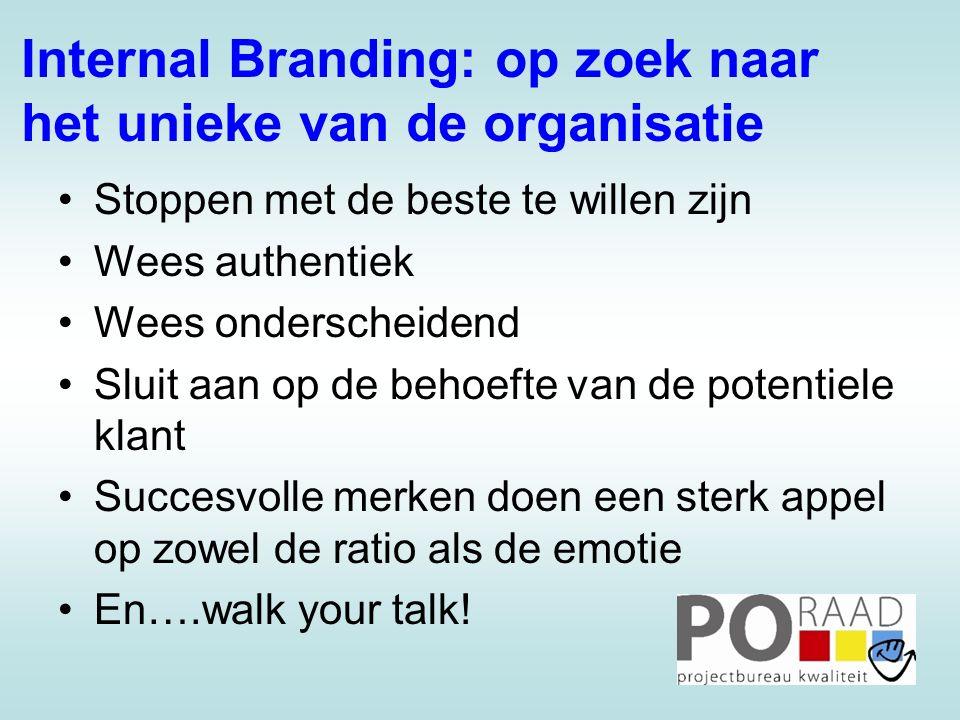 Internal Branding: op zoek naar het unieke van de organisatie