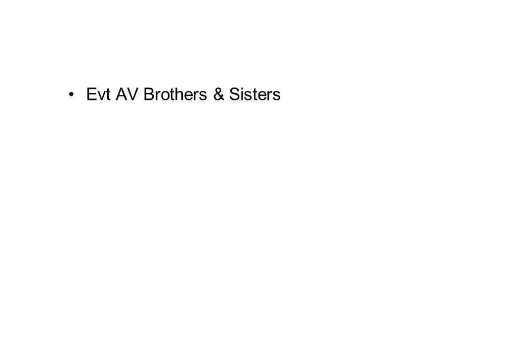 Evt AV Brothers & Sisters