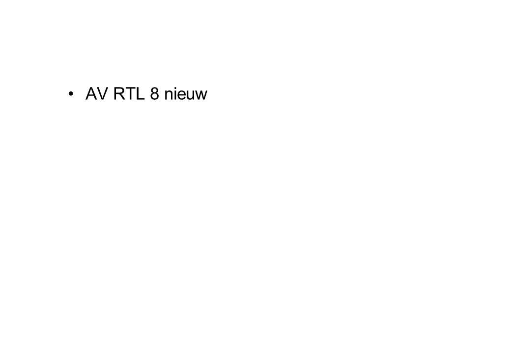 AV RTL 8 nieuw