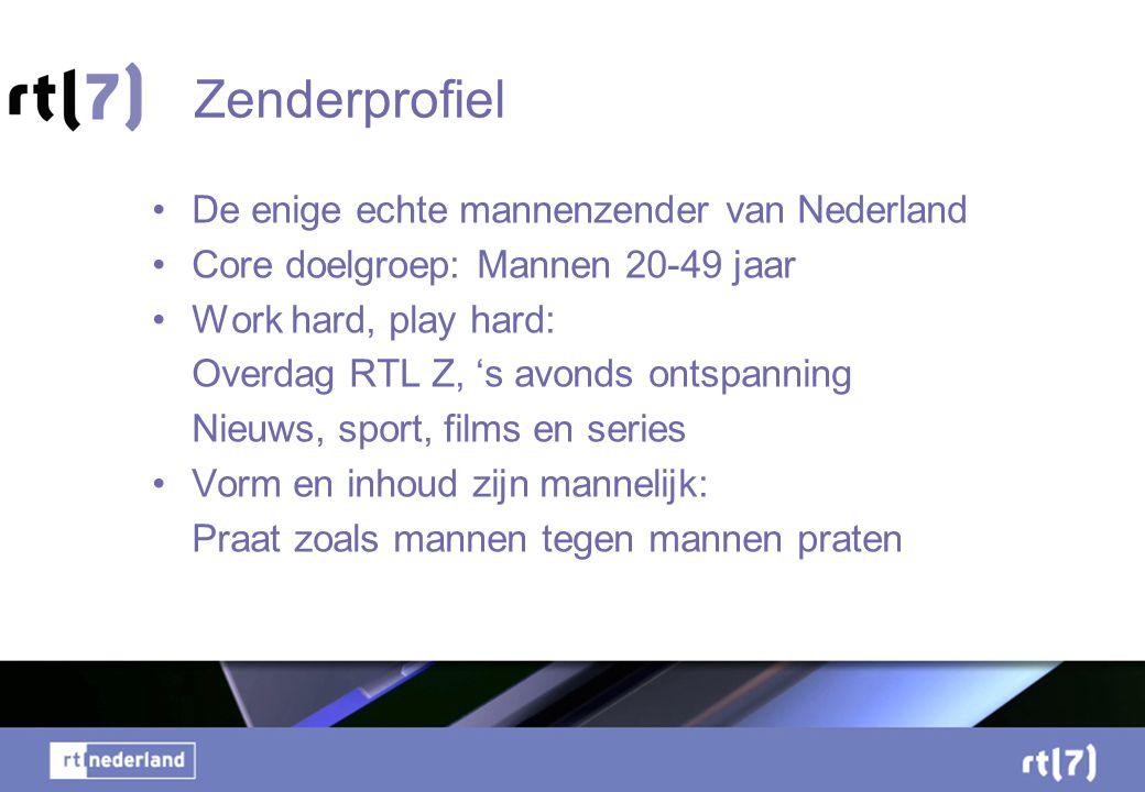 Zenderprofiel De enige echte mannenzender van Nederland