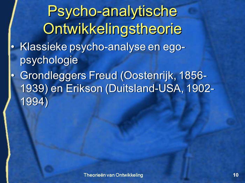 Psycho-analytische Ontwikkelingstheorie