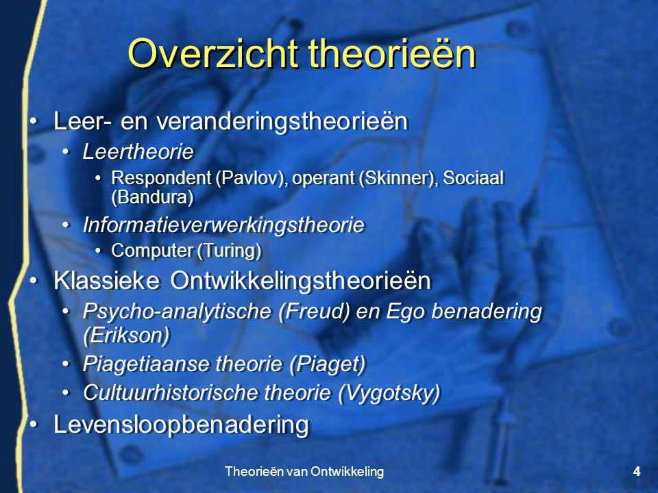 Theorieën van Ontwikkeling