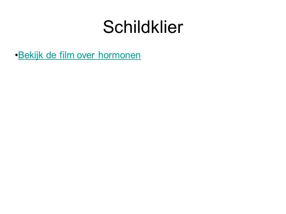Schildklier Bekijk de film over hormonen