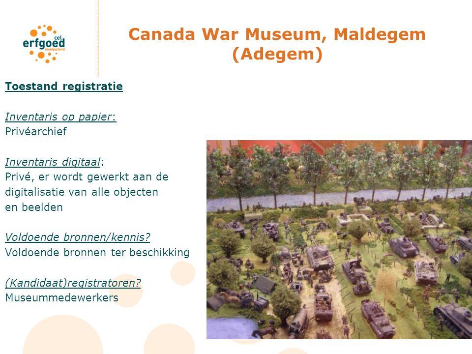 Canada War Museum, Maldegem (Adegem)