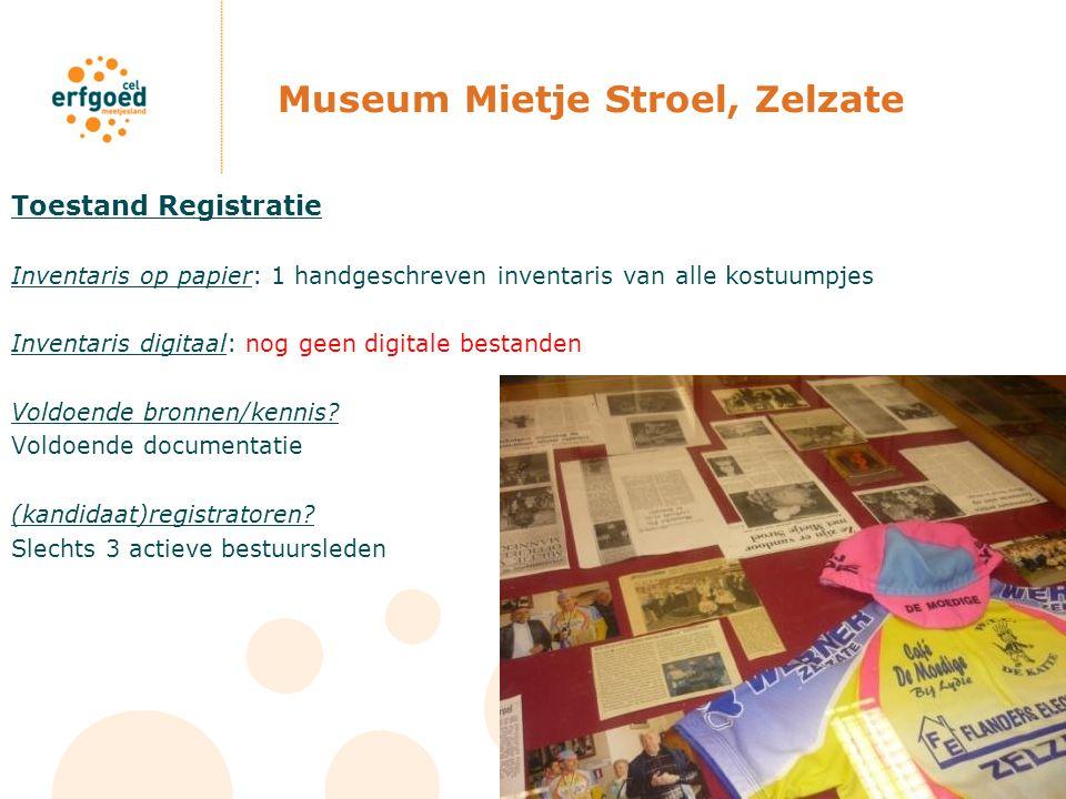 Museum Mietje Stroel, Zelzate