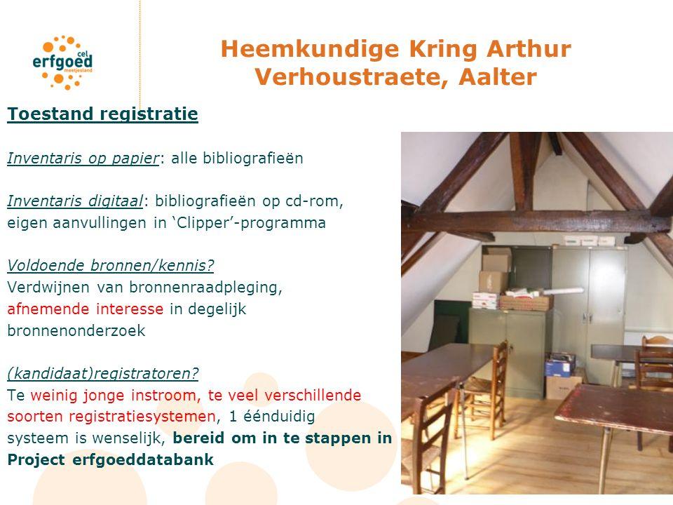 Heemkundige Kring Arthur Verhoustraete, Aalter
