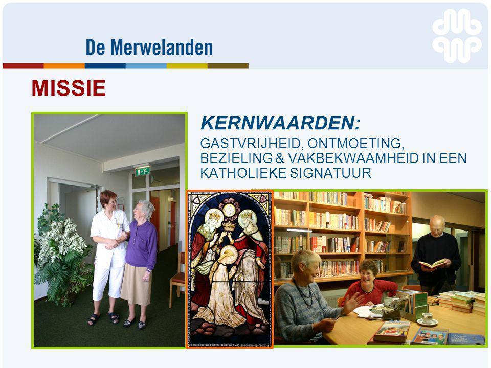 MISSIE KERNWAARDEN: GASTVRIJHEID, ONTMOETING, BEZIELING & VAKBEKWAAMHEID IN EEN KATHOLIEKE SIGNATUUR.