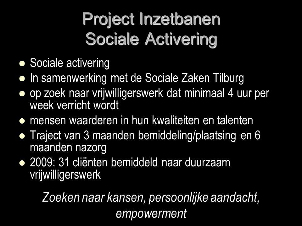 Project Inzetbanen Sociale Activering