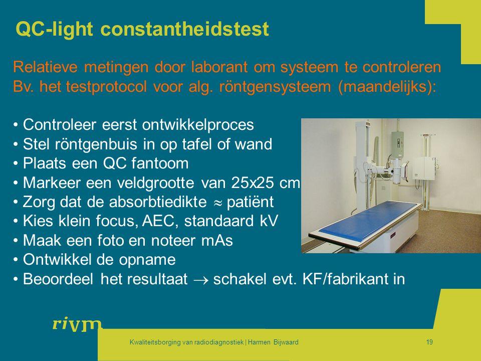 QC-light constantheidstest