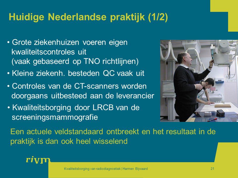 Huidige Nederlandse praktijk (1/2)