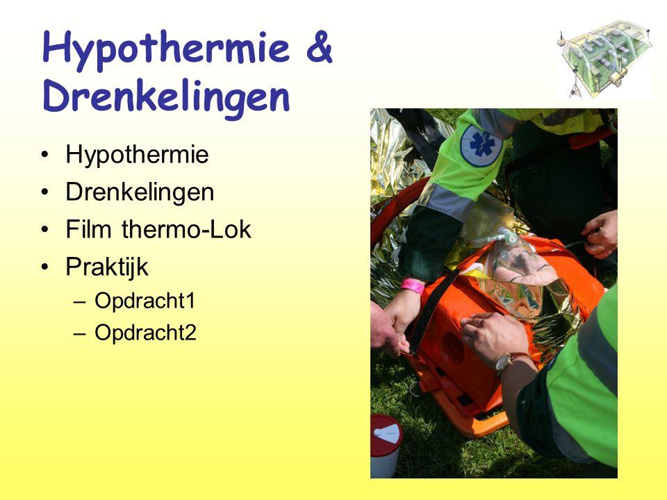 Hypothermie & Drenkelingen