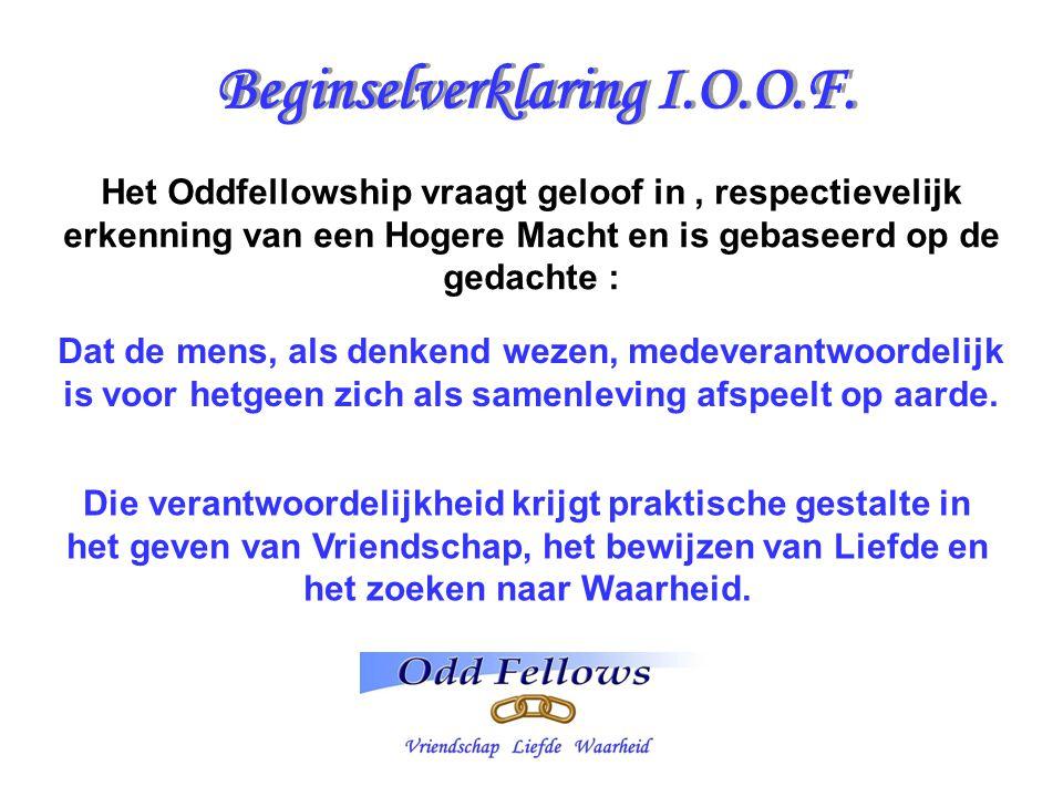 Beginselverklaring I.O.O.F.