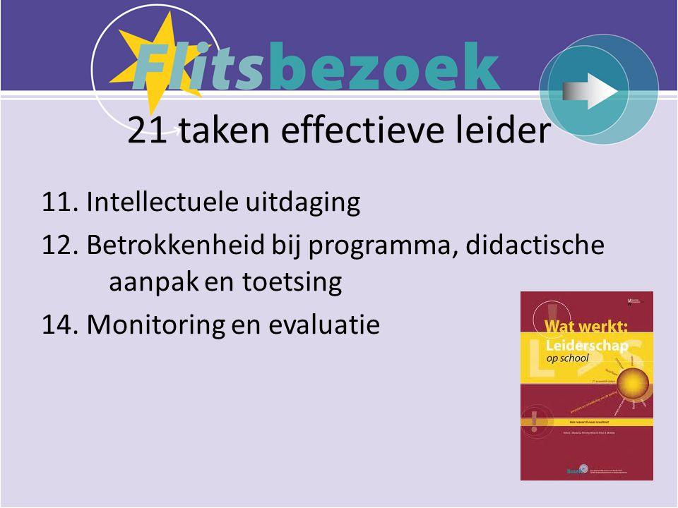 21 taken effectieve leider