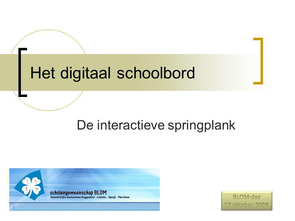 Het digitaal schoolbord