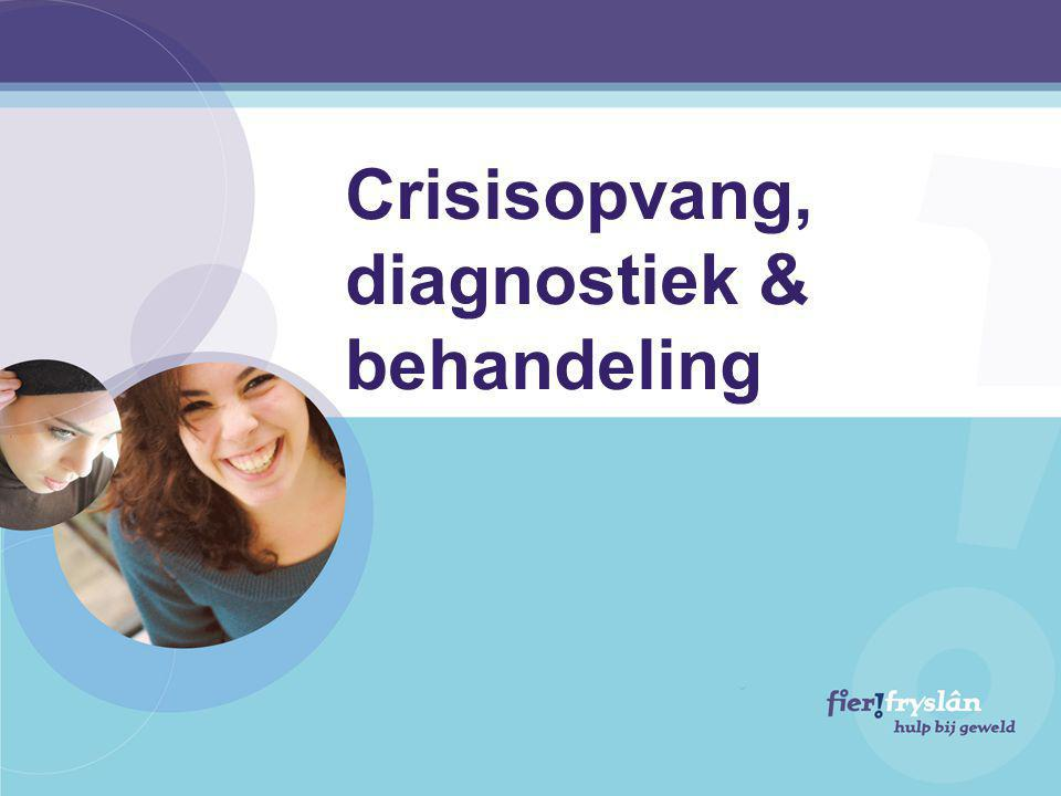 Crisisopvang, diagnostiek & behandeling