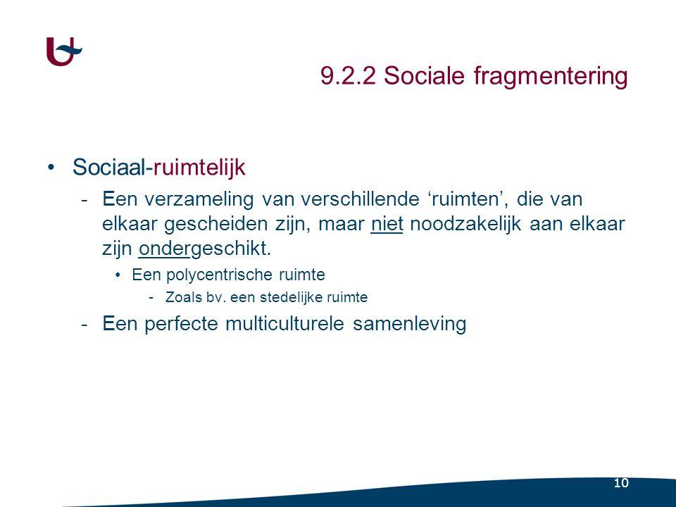 9.2.3 Sociale ongelijkheid (focus sociologie)