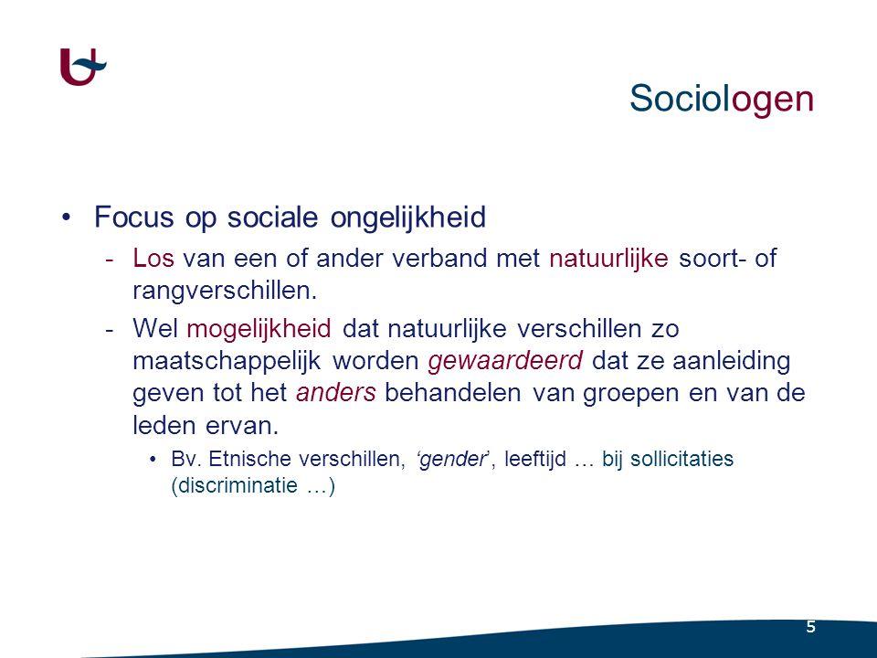 Sociologen Die een hiërarchiserend mechanisme zijn