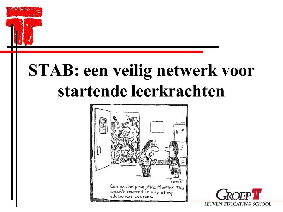 STAB: een veilig netwerk voor startende leerkrachten