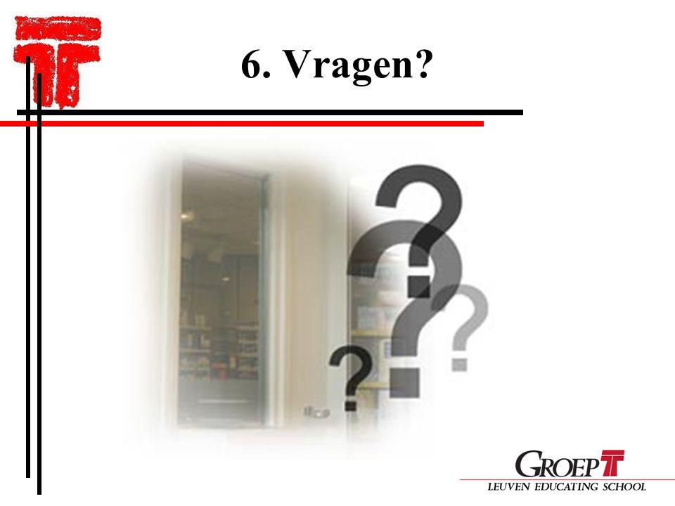 6. Vragen