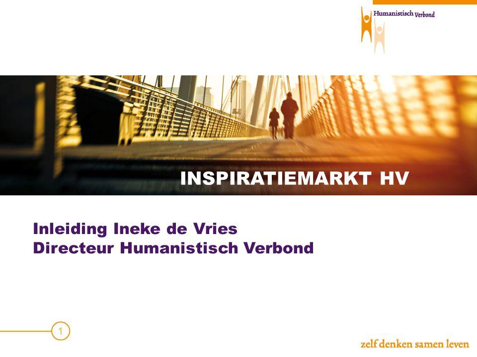 INSPIRATIEMARKT HV Inleiding Ineke de Vries