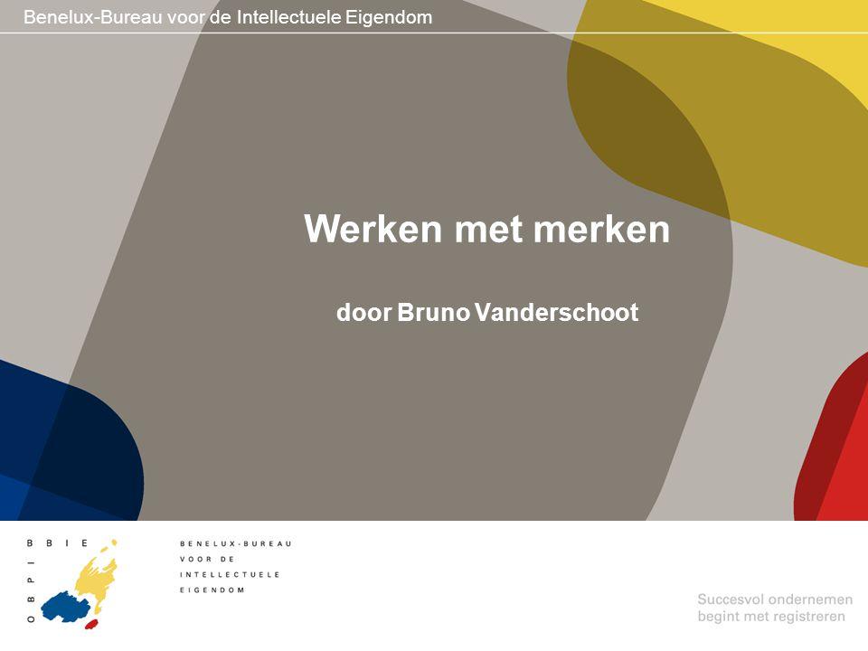 Werken met merken door Bruno Vanderschoot