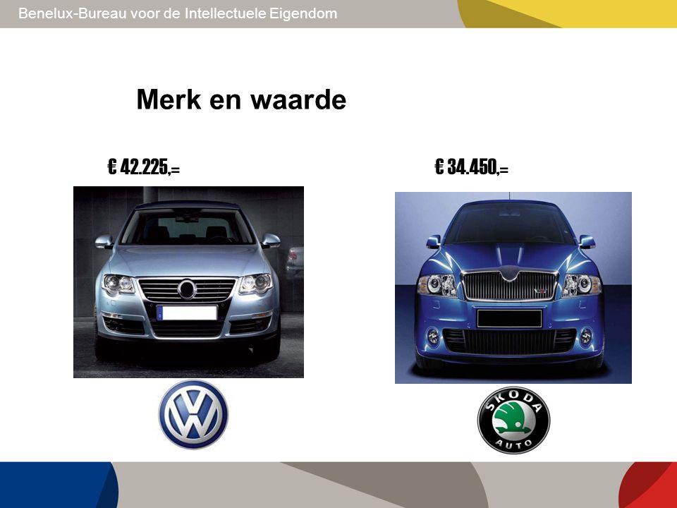 Merk en waarde € 42.225,= € 34.450,=